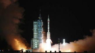 """Пилотируемый корабль """"Шэньчжоу-13"""". Фото Xinhua via AP"""