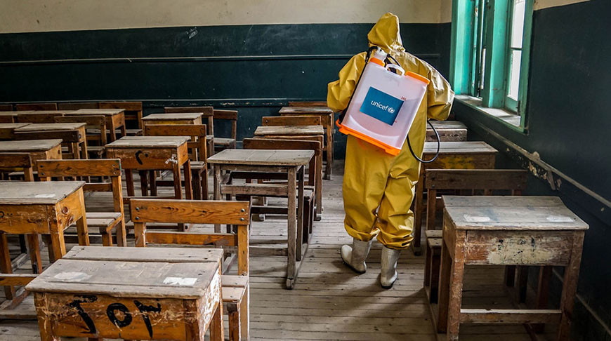 Школа в Египте. Фото ЮНИСЕФ