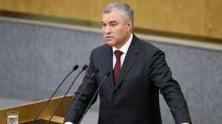 Спикер Госдумы Вячеслав Володин. Фото ТАСС