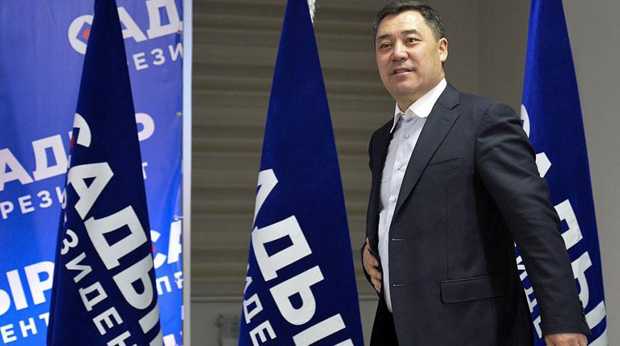 Садыр Жапаров. Фото  AP