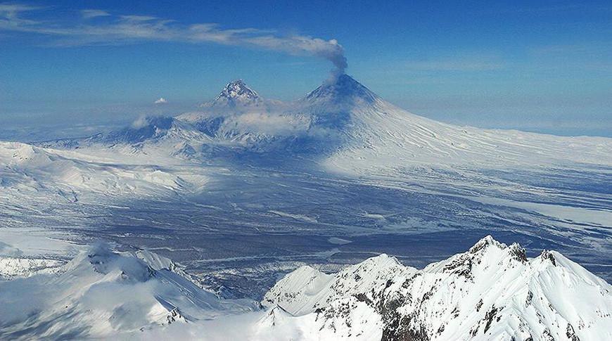 Вулкан Ключевской (Ключевская Сопка). Фото из архива ТАСС