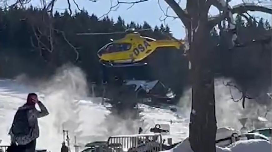 В горах Чехии сошла снежная лавина, погиб 17-летний альпинист