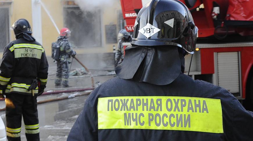 В Новой Москве взорвались два резервуара с топливом