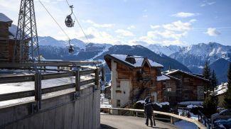 Швейцарский горнолыжный курорт Фербир. Фото AFP