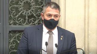 Микель Сампер. Скриншот из видео El Periodico