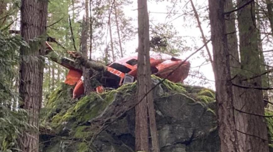На западе Канады разбился вертолет, есть пострадавшие