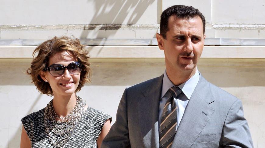 Президент Сирии Башар Асад и его супруга заразились коронавирусом