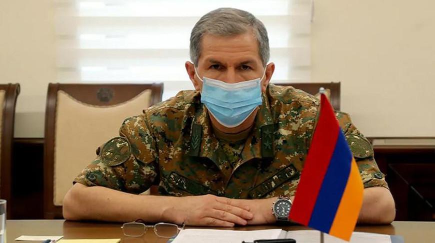 Оник Гаспарян. Фото Министерства Обороны Республики Армения