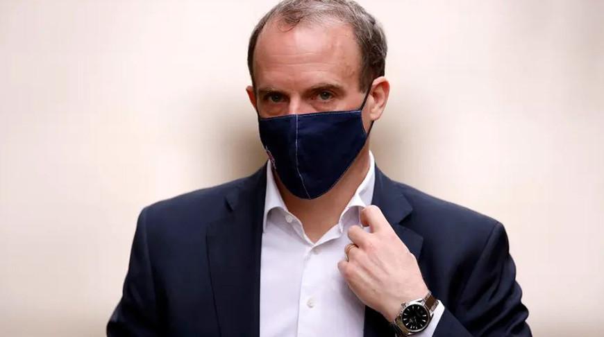 Министр иностранных дел Великобритании Доминик Рааб. Фото  Reuters