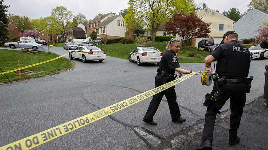 Два человека убиты при стрельбе в Мэриленде