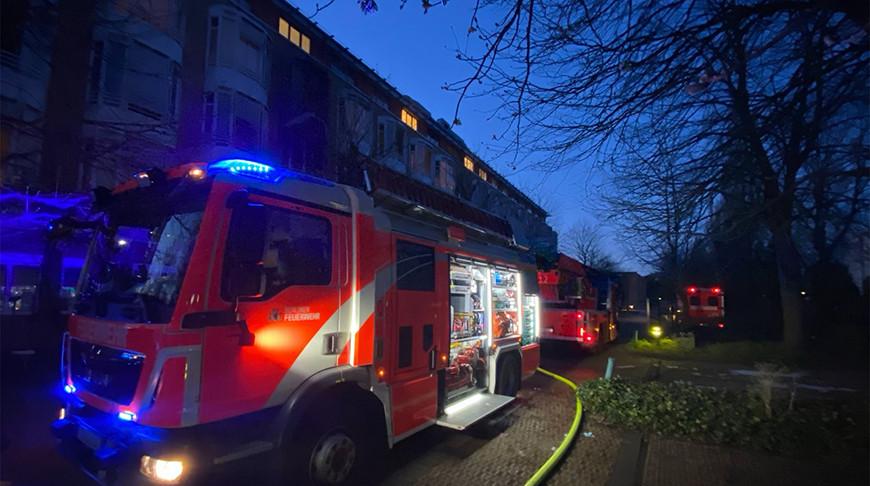 Фото пожарной службы Берлина