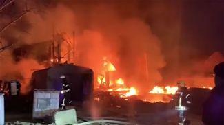 Скриншот из видео dsns.gov.ua