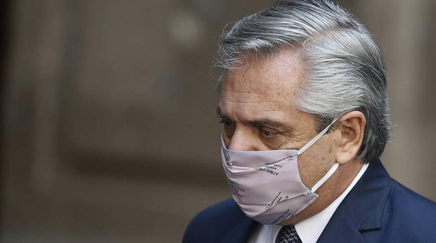 Альберто Фернандес. Фото  AP Photo