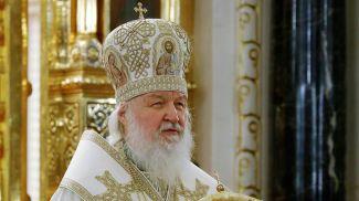 Патриарх Кирилл. Фото из архива ТАСС