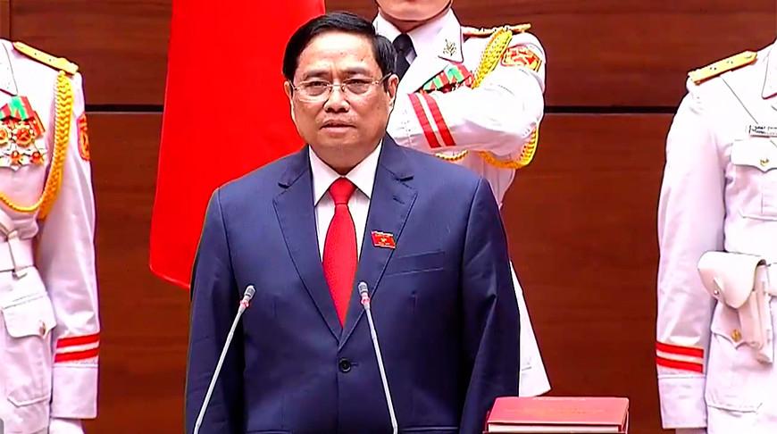 Фам Минь Чинь. Скриншот из видео Zing News