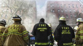 Фото Пожарного Департамента Нью-Йорка