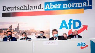 """Федеральный съезд партии """"АдГ"""" в Дрездене . Фото DW"""