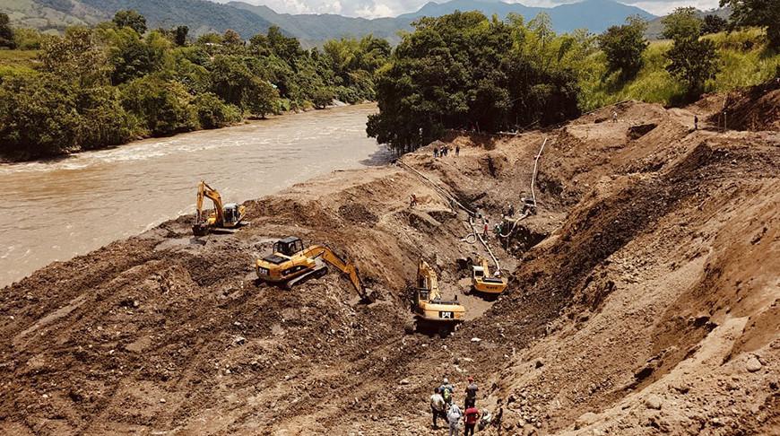 Фото из Twitter-аккаунта главы Национального горнодобывающего агентства Колумбии