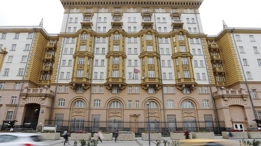 Посольство США в Москве. Фото ТАСС