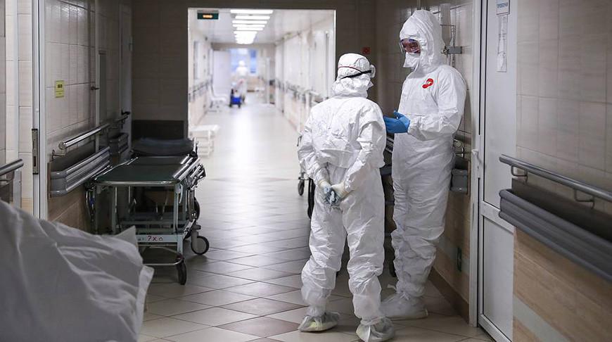 В России за сутки выявили 8053 случая заражения COVID-19