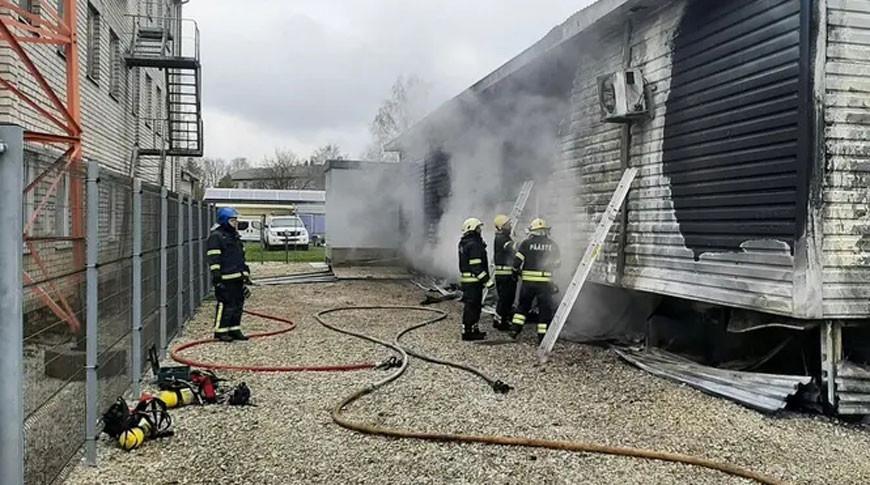 В Эстонии из-за пожара на подстанции без электричества остались 5,7 тыс. домохозяйств