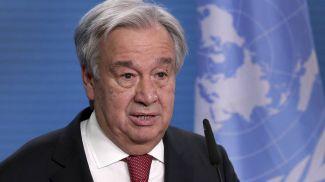 Генеральный секретарь ООН Антониу Гутерриш. Фото EPA-EFE