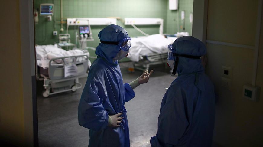В России за сутки выявили 7920 случаев заражения COVID-19