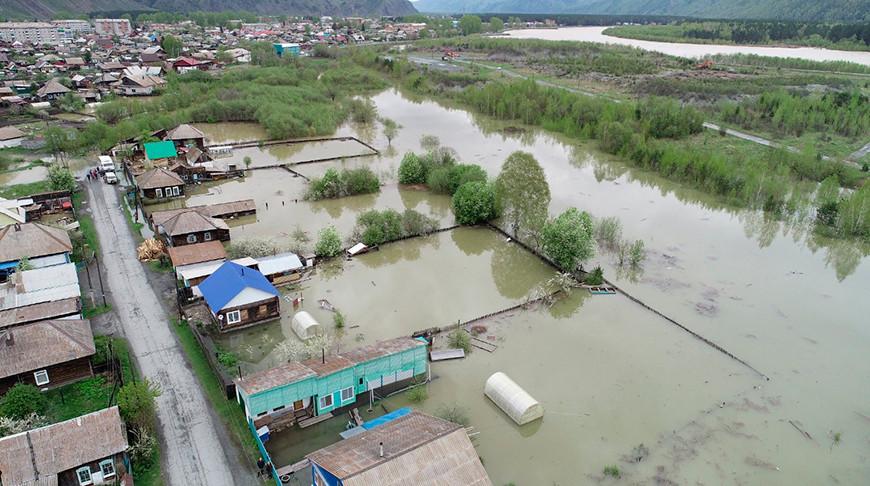 В Хакасии объявлен режим ЧС из-за паводков