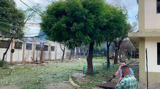 Скриншот из видео  El Tiempо
