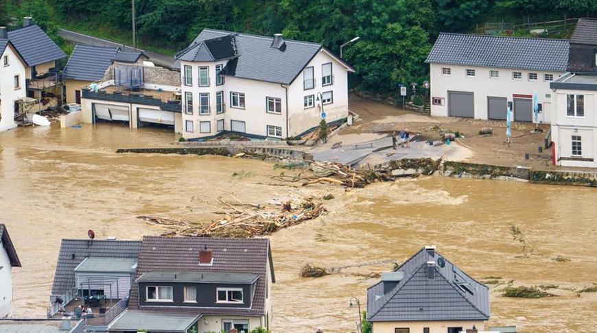 Режим военной катастрофы объявлен в Германии в связи с наводнением