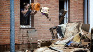 Ликвидация последствий наводнения в Северном Рейне - Вестфалии. Фото Getty Images