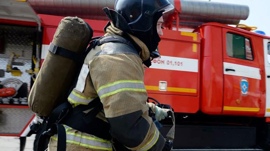 Пожар в здании Киевского вокзала в Москве потушили