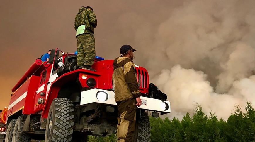 В Красноярском крае из-за пожаров в Якутии задымлено почти 90 населенных пунктов
