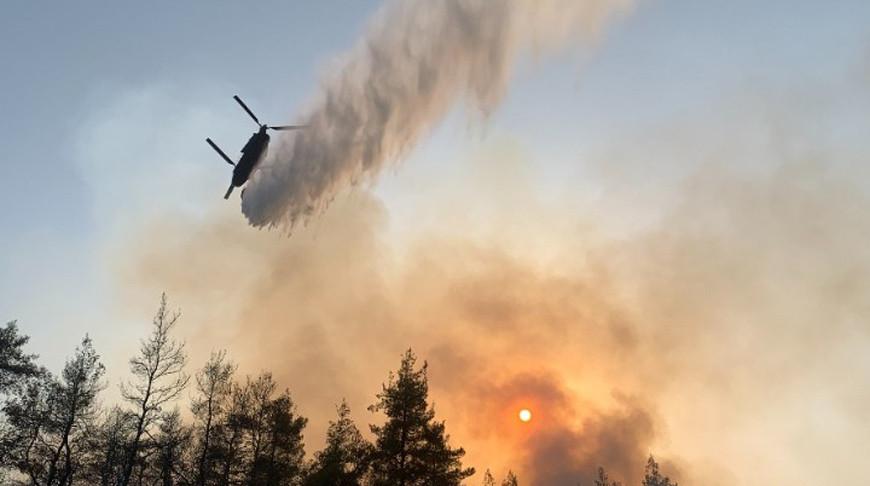 Пожарный самолет потерпел крушение на греческом острове Закинф