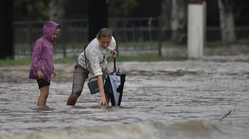 В зоне подтопления в Крыму оказалось около 100 домов