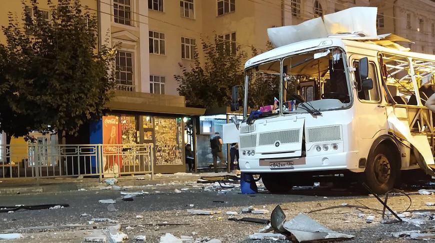 Число пострадавших при взрыве автобуса в Воронеже выросло до 22