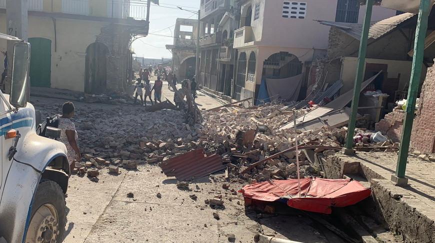 Число погибших в результате землетрясения в Гаити возросло до 1 941