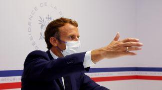 Эммануэль Макрон. Фото Reuters