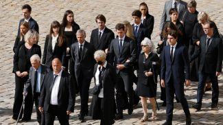Члены семьи Бельмондо прибыли на церемонию. Фото lapresse.ca