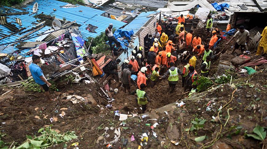 Оползень в Индии. Фото Global Look Press