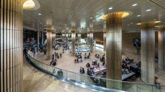 Аэропорт имени Бен-Гуриона. Фото GeorgeDement