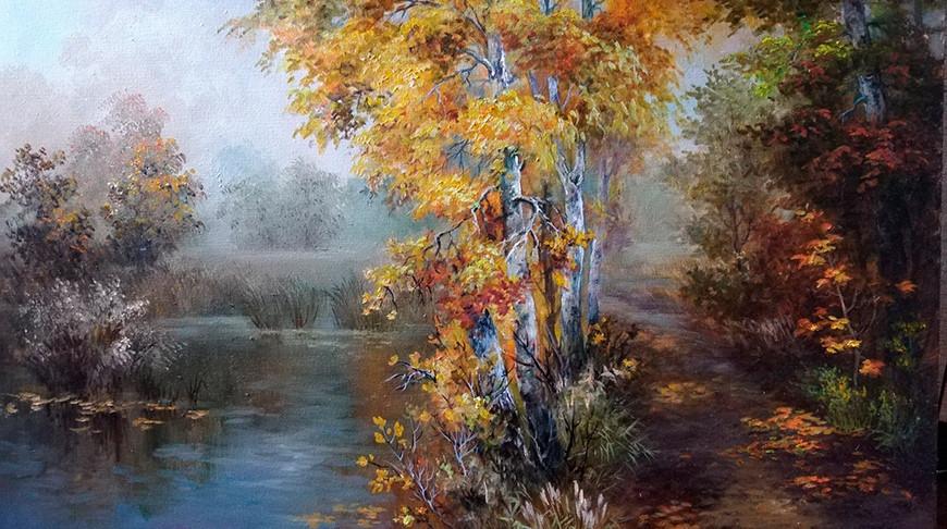 Фрагмент картины Анны Гадировой. Фото artcenter.by