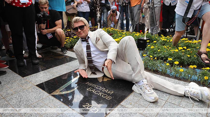 Николай Басков на площади Звезд
