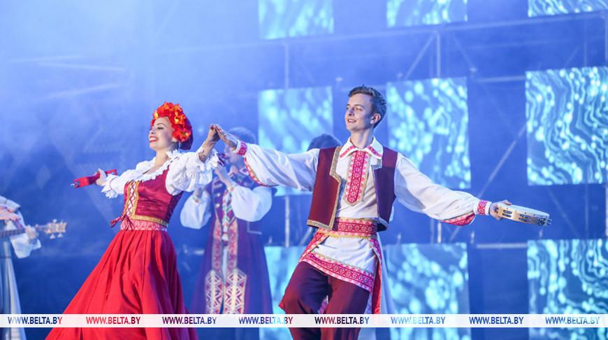 Праздничный концерт на Дне белорусской письменности. Фото из архива