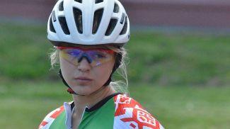 Анна Нифонтова. Фото из архива Белорусского союза конькобежцев