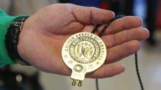 Медаль чемпионата мира по тяжелой атлетике. Фото из архива