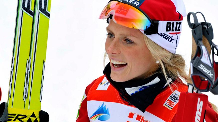 Норвежка Тереза Йохауг выиграла золото ЧМ по лыжным видам спорта