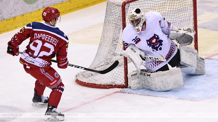Хоккеисты 'Юности' обыграли 'Брест' в первом матче четвертьфинала плей-офф чемпионата Беларуси