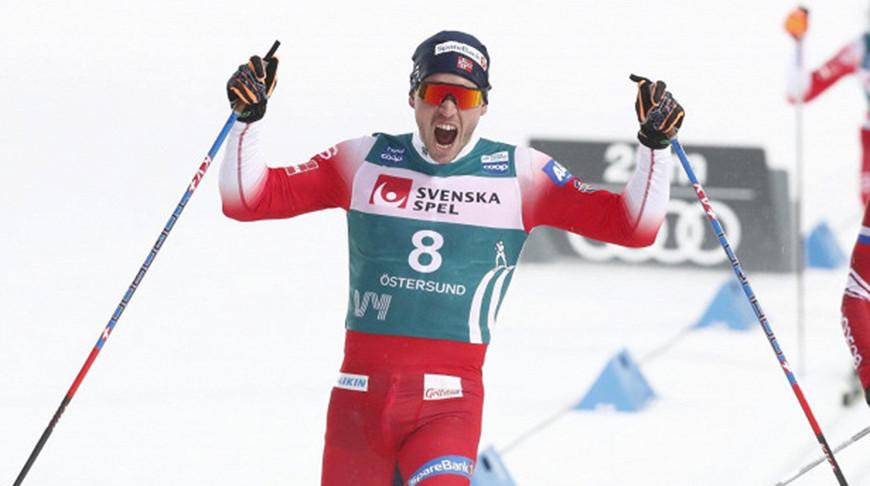 Норвежские спортсмены выиграли золото эстафеты на ЧМ по лыжным видам спорта