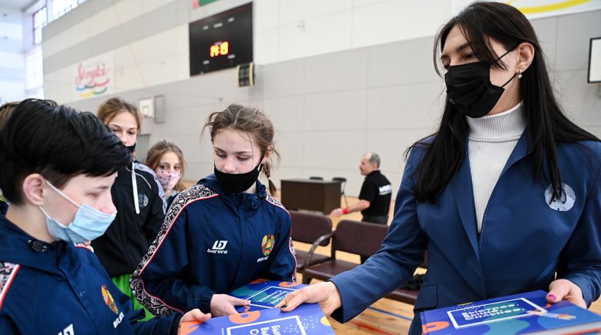 Комиссия спортсменов НОК провела образовательный семинар в 'Стайках'